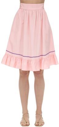 Batsheva Praire Moire Skirt