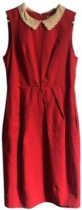 Orla Kiely Red Cotton Dress for Women