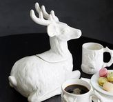 Pottery Barn Stag Cookie Jar