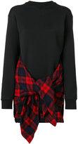 DSQUARED2 panelled sweatshirt