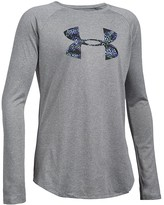 Under Armour Girls' Big Logo Tech Tee - Sizes XS-XL
