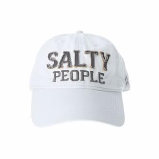Pavilion Gift Company Salty People-White Adjustable Snapback Baseball Hat