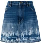 Saint Laurent fade effect skirt
