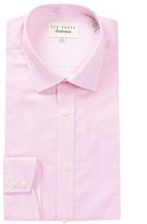 Ted Baker Silsurf Long Sleeve Trim Fit Gingham Dress Shirt