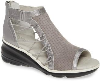Jambu Naomi Perforated Wedge Sandal