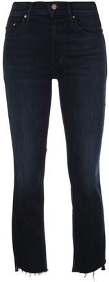 Mother Insider high-rise slim jeans