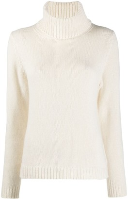 BA&SH Roll-Neck Cashmere Jumper