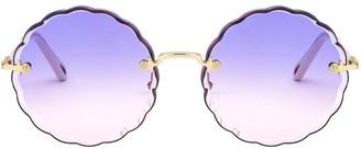 Chloé Eyewear Frameless Sunglasses