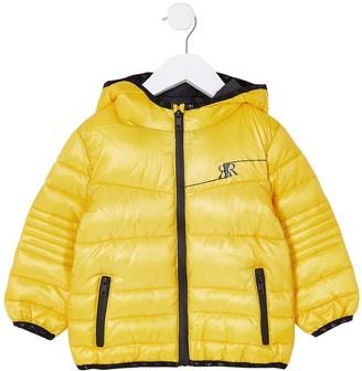 River Island Mini Mini Boys Padded Coat-Yellow