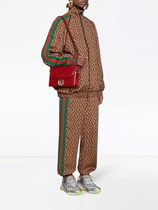 Gucci Gg Print Bomber Jacket