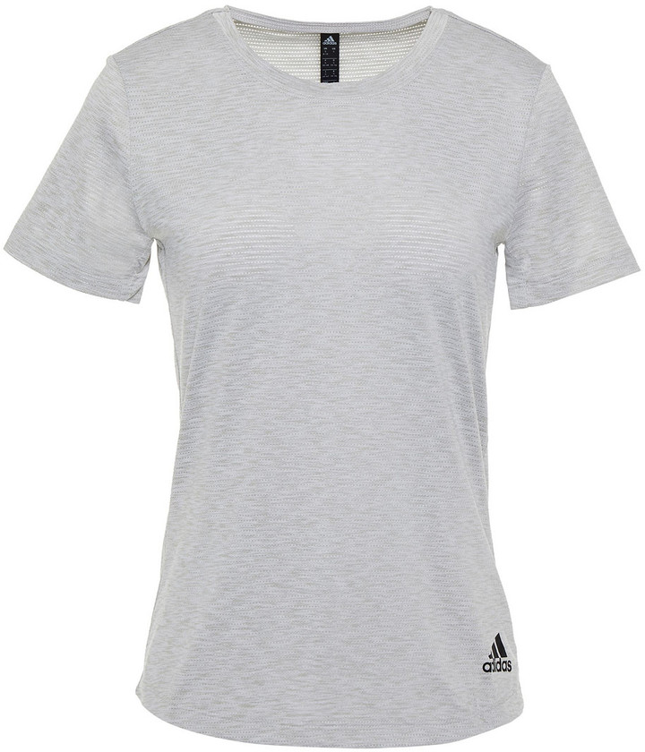 adidas Perforated Stretch-jersey T-shirt