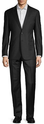 Armani Collezioni Classic-Fit Notch Lapel Wool Suit