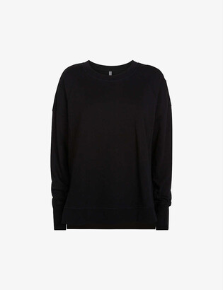 Sweaty Betty After Class organic cotton-blend jersey sweatshirt