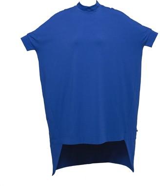 Non+ Non508 Blue Short Sleeve Loose Dress