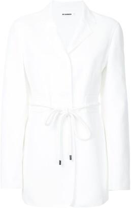 Jil Sander belted fitted blazer