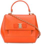 Salvatore Ferragamo Carrie crossbody bag - women - Leather - One Size