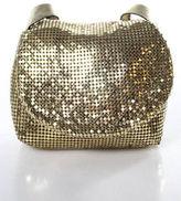 Whiting & Davis Gold Tone Small Chain Mail Crossbody Handbag