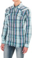 Wrangler Rock 47 Embroidered Yokes Shirt - Snap Front, Long Sleeve (For Women)