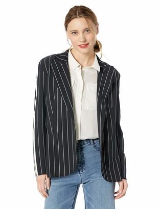 Norma Kamali Women's Side Single Breasted Jacket
