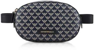 Emporio Armani Color Block Signature Belt Bag