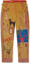 Bode Senior Printed Cotton-Corduroy Trousers