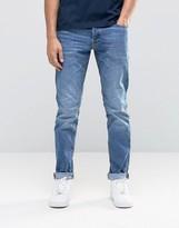 Jack and Jones Slim Fit Jeans in Light Blue Wash
