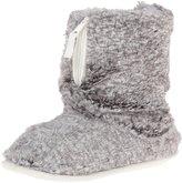 Dearfoams Women's Pile Boot with Zipper Ankle Bootie