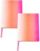 Christian Lacroix A5 Neon Pink Paseo Notebooks, Set of 2