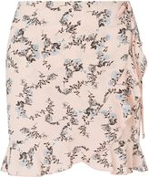 Miss Selfridge Petites Printed Ruffle Skirt