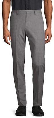 HUGO BOSS Standard-Fit Textured Pants