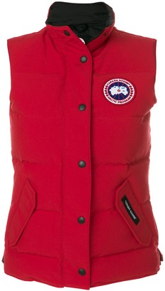 Canada Goose Logo Patch Padded Gilet