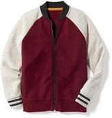 Old Navy Fleece Bomber Jacket for Boys