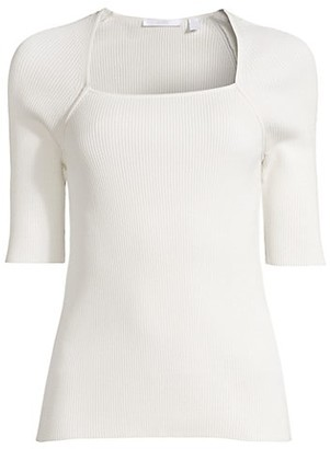 HUGO BOSS Finula Elbow-Sleeve Knit Top