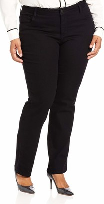 Lee Women's Plus-Size Classic Fit Monroe Straight-Leg Jean