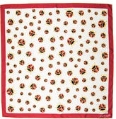 Kenneth Jay Lane Ladybug Printed Scarf