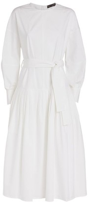 Proenza Schouler Self-Tie Maxi Dress