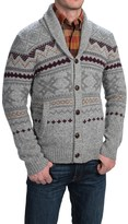 Woolrich Ultra-Line Fair Isle Cardigan Sweater - Button Front, Wool (For Men)
