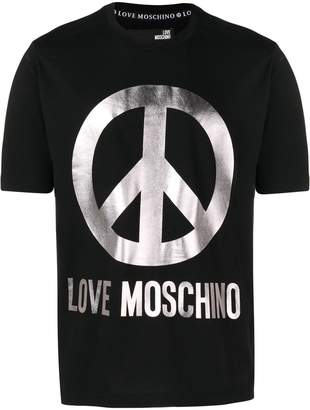 Love Moschino oversized logo T-shirt