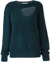 CHRISTOPHER ESBER reversible negative space sweater