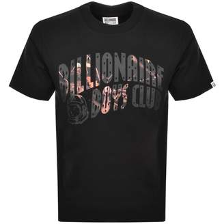 Billionaire Boys Club Camo Logo T Shirt Black