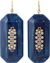 Bakelite & Multi-Gemstone Emmelyne 2 Earrings