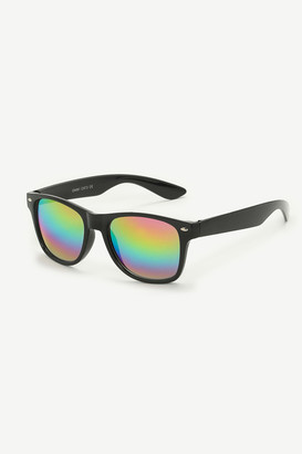 Ardene Mirrored Wayfarer Sunglasses