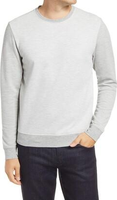 Robert Barakett Downtown Pinstripe Long Sleeve T-Shirt