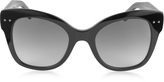 Bottega Veneta BV0083S Acetate Cat Eye Women's Sunglasses