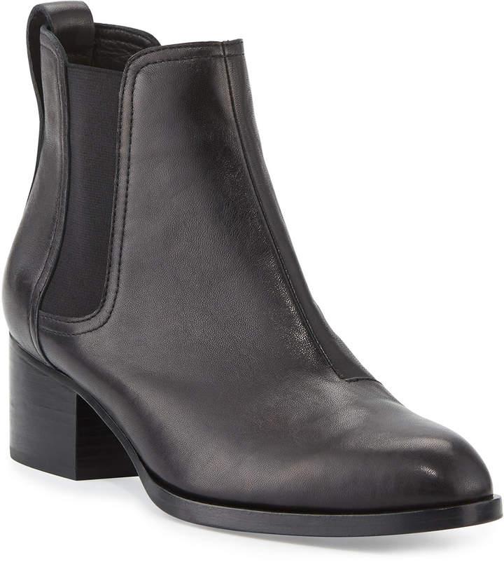 Rag & Bone Walker Leather Ankle Boot, Black