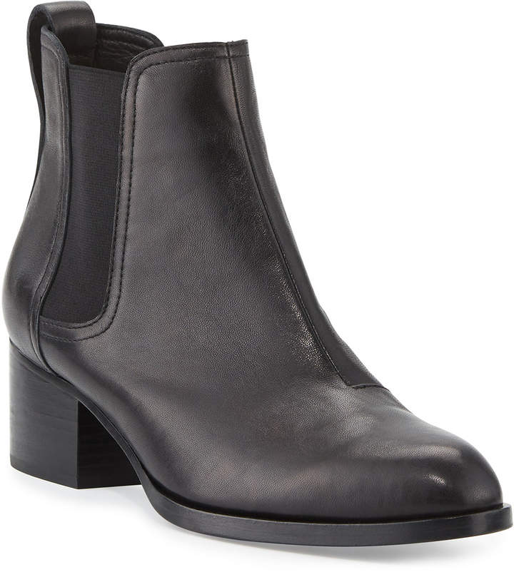 Rag & Bone Walker Leather Ankle Boots, Black