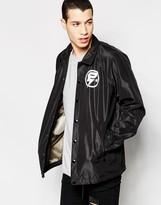 G-star Jacket Hedrove Coach Back Logo In Black