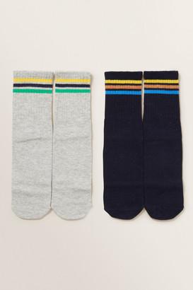 Seed Heritage Slogan Socks