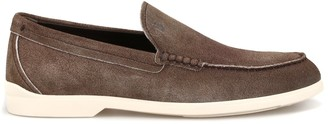 Tod's Contrast Sole Loafers