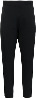 Poiret High rise tapered trousers